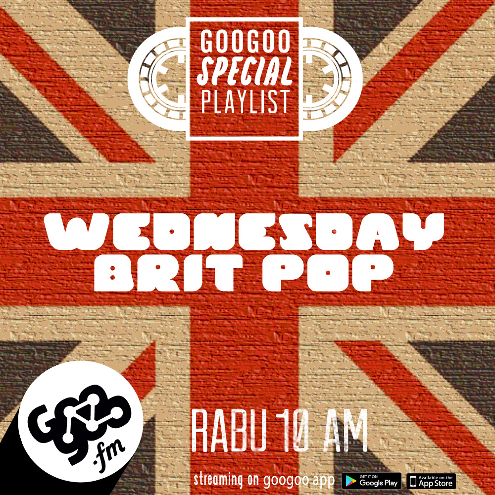 googoo.fm - WEDNESDAY BRITPOP