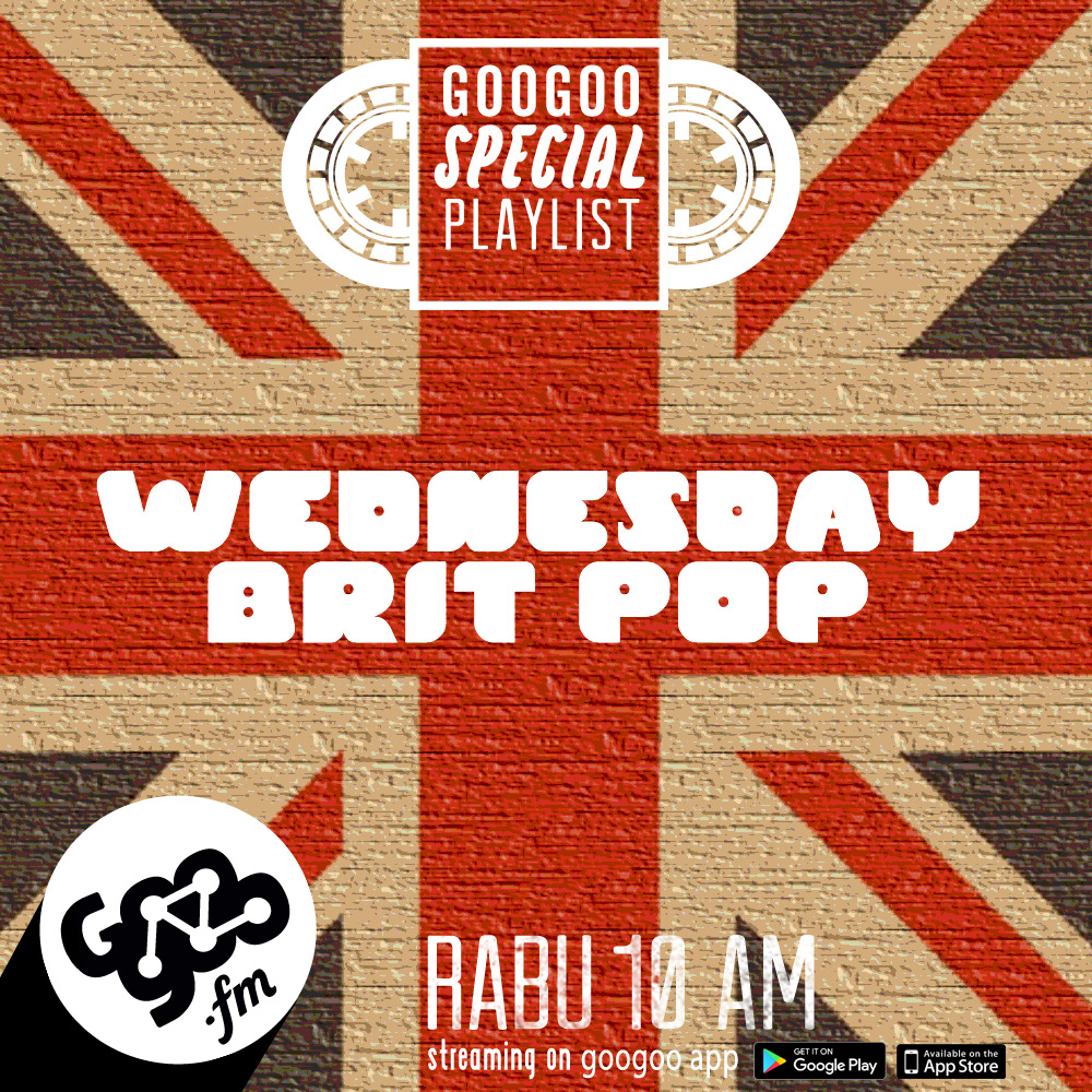 googoo.fm - WEDNESDAY BRIT POP